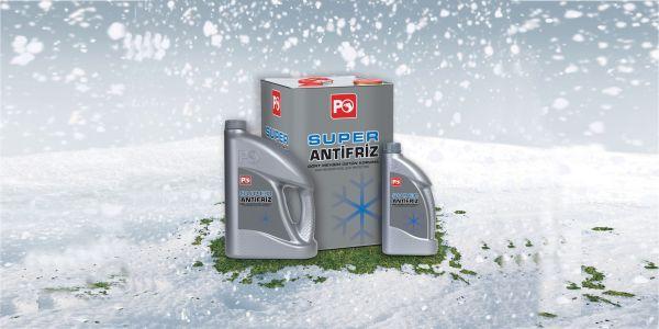 Kış geliyor motorunuzu Super Antifiriz koruyor