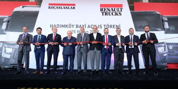 Koçaslanlar Hadımköy Renault Trucks Dünya Başkanı ile açıldı