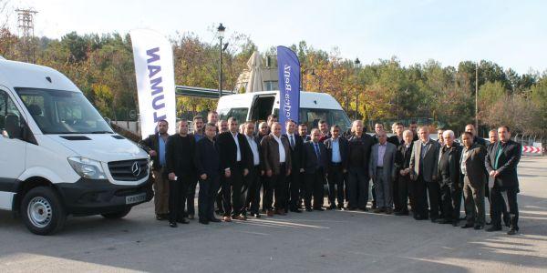 Koluman Gaziantep, Servisçilere 22+1 Sprinter'i tanıttı
