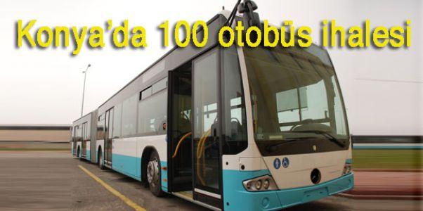 Konya'da 100 doğalgazlı otobüs ihalesi 20 Haziran'da