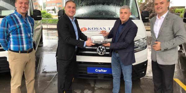Koşan Tur Volkswagen Crafter yatırımı yaptı