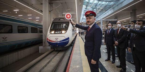 Yüksek Hızlı Tren tren seferleri yeniden başladı