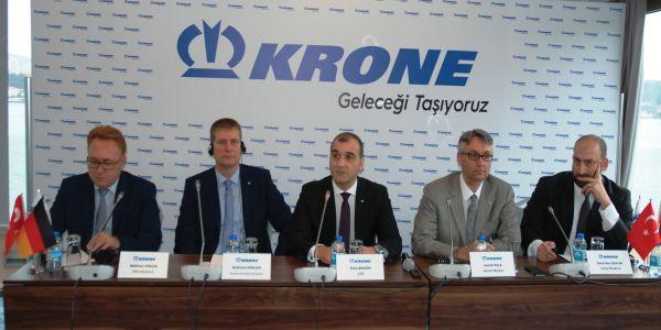 Krone Türkiye'nin yeni şasi üretim tesisi açılıyor