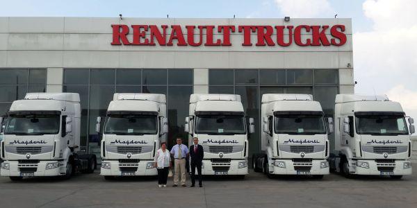 Mağdenli Nakliyat'ın, Renault Trucks yatırımı