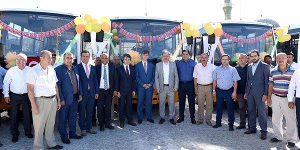 Malatya'da toplu ulaşımda Sultan City konforu