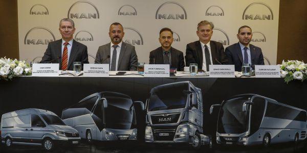 MAN 2020'de 500 otobüs, 12 bin kamyon pazarı bekliyor