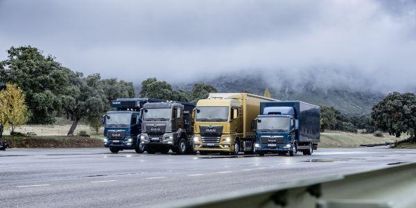 MAN yeni kamyon ve çekicilerini tanıttı