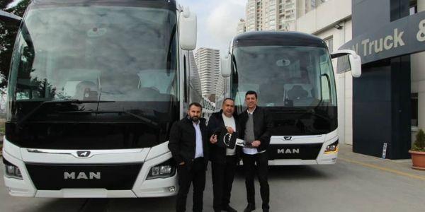 MAPAR Otomotiv'den Acem Tur'a 10 MAN Lion's Coach