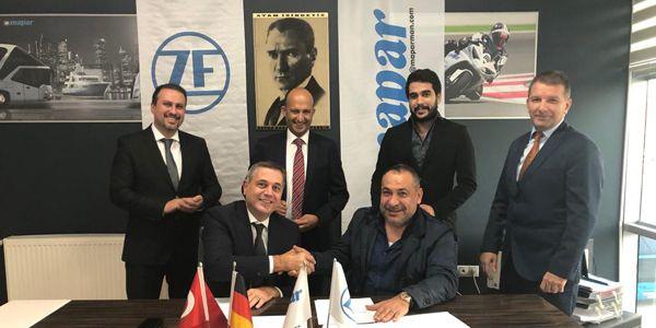 MAPAR  ZF Türk'ün partner yetkili servisi oldu