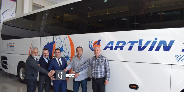 MAPAR'dan Artvin Ses Turizm'e MAN Lions Coach