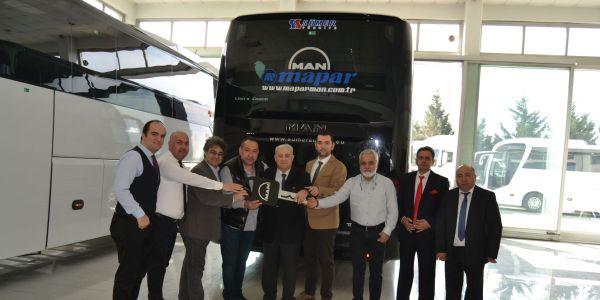 MAPAR'dan Sümer Seyahat'e MAN Lion's Coach