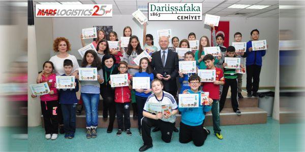 Mars Logistics, Darüşşafak'ı destekliyor