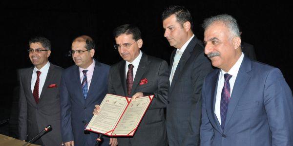 Mehmet Selim Kara Yüksek Okul yapımı protokolü imzalandı