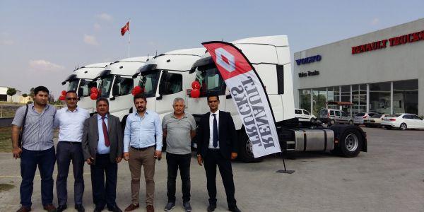 Meltem Kimya'nın tercihi Renault Trucks