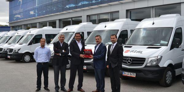 Mengerler İstanbul'dan AZ-AL Turizm'e 15 Sprinter