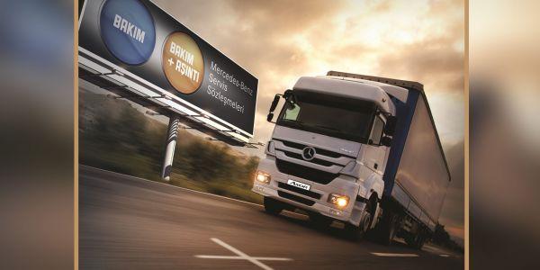 Mercedes, Axor Kamyonlara servis sözleşmesi avantajları sunuyor