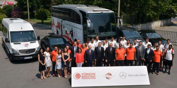 Mercedes, Basketbol sponsorluğuna devam ediyor