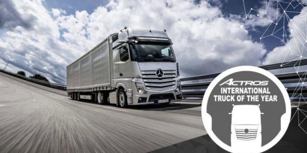 "Mercedes-Benz Actros, ""Yılın Kamyonu"" seçildi"