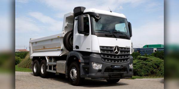 Mercedes-Benz Arocs 2532 K 6x2 Türkiye yollarında