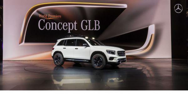Mercedes-Benz Concept GLB dünya tanıtımını Çin'de yapıyor