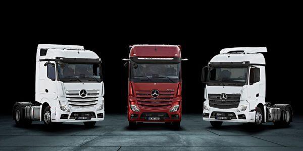Mercedes-Benz kamyonlarında 500.000 TL kredi