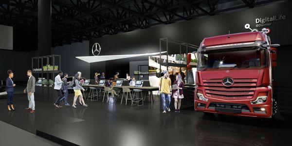 Mercedes-Benz, yeni mobil teknolojilerini sergiledi