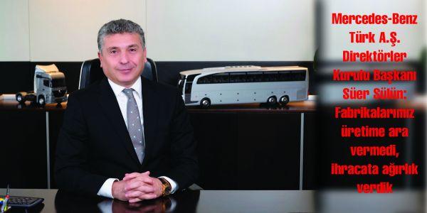 Mercedes-Benz Türk 2016 yılını yeni yatırım kararlarıyla kapattı