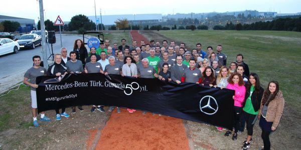 Mercedes-Benz Türk, 50.yılında İstanbul Maratonu'nda eğitim için koşacak