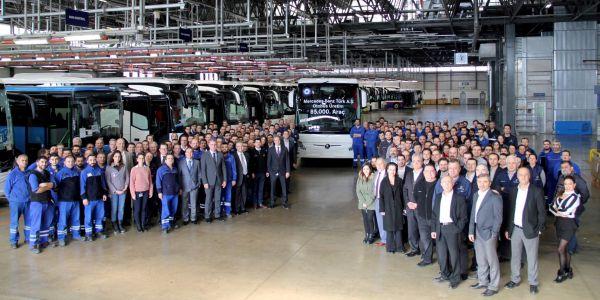 Mercedes-Benz Türk, 85.000'inci otobüsü üretti