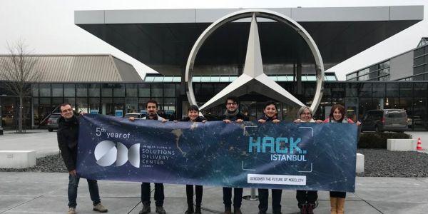 Mercedes-Benz Türk kazananları Stuttgart'a