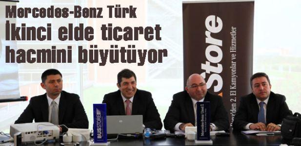 Mercedes-Benz Türk ikinci elde ticaret hacmini büyütüyor