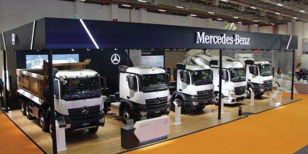 Mercedes-Benz Türk, İnşaat Araçlarını Sergiledi
