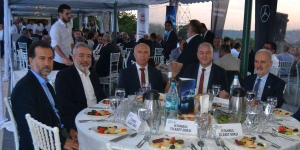 Mercedes-Benz Türk İSTAB üyeleriyle iftarda buluştu