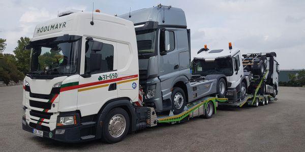 Mercedes-Benz Türk Kamyonlarını Hödlmayr Taşıyor