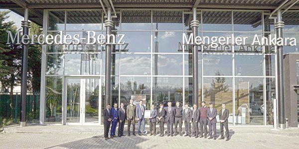 Mercedes-Benz Türk yetkili servislerinde ''üretici standardında onarım''