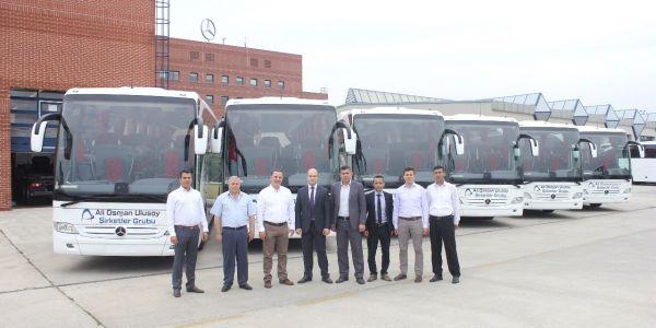 Mercedes-Benz Türk'ten 16 otobüs teslimatı