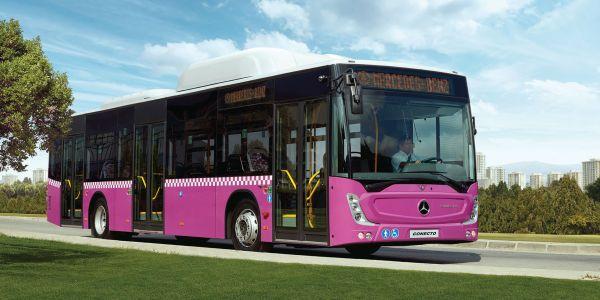 Mercedes-Benz Türk'ten CNG'li otobüsler için yatırım
