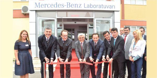 Mercedes-Benz Türk'ten Meslek Liselerine Motor Laboratuvarı