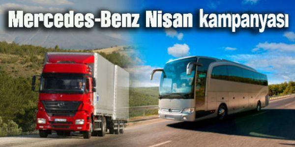 Mercedes-Benz Türk'ten Nisan kampanyası
