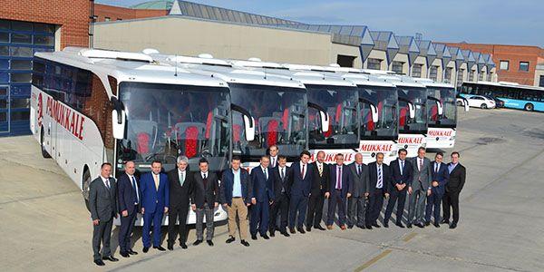 Mercedes-Benz Türk'ten Pamukkale Turizm'e 7 Tourismo