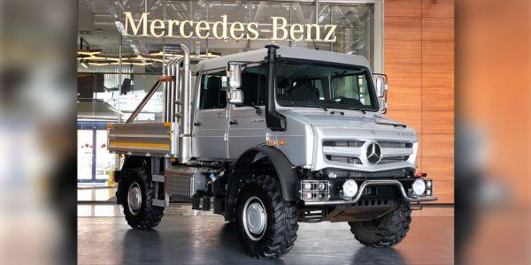 Mercedes-Benz Unimog Şehirde Yollara Çıkıyor