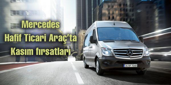 Mercedes Hafif Ticari Araç'ta Kasım fırsatları