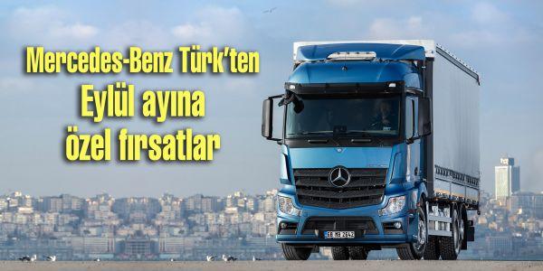 Mercedes Kamyon ve Otobüste Eylül kampanyası
