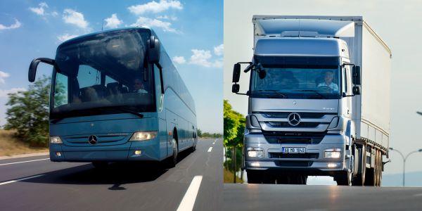 Mercedes otobüs ve kamyon Kasım kampanyası
