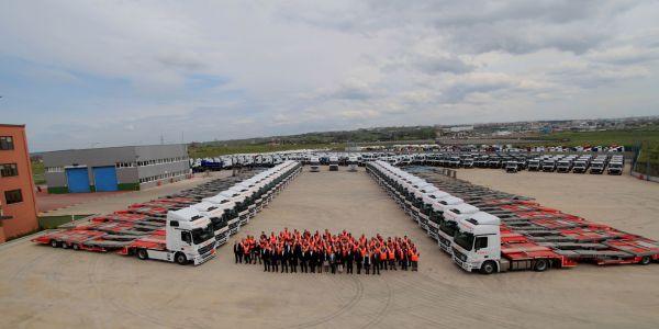 Mercedes taşıyıcısı VEGA Lojistik 10. Yılını Kutluyor