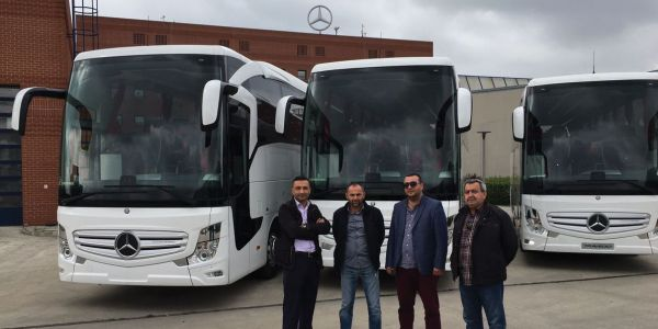 Mercedes'ten 3 Travego, 3 Tourismo teslimatı