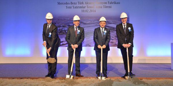 Mercedes Aksaray Fabrikası'na 113 milyon Avro'luk yeni yatırım