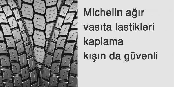 Michelin ağır vasıta lastik kaplamaları kışın da güvenli