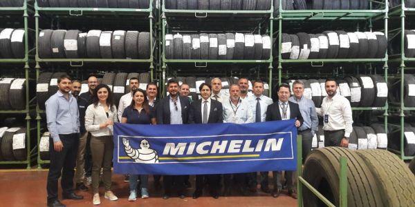 Michelin, Omsan Lojistik ve BP Türkiye çalışanlarına lastik eğitimi verildi