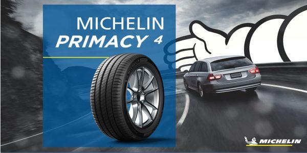Michelin Primacy 4 İle Daha Fazla Su Tahliyesi